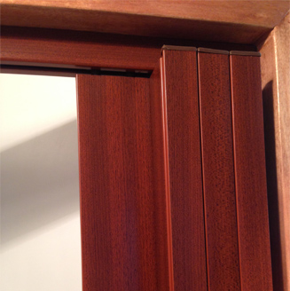 Decodor space saver doors come in a variety of colours, and represent an ideal option for serving counter closures. These stacking doors can be fitted straight onto counter tops and stack away neatly to the sides when not in use