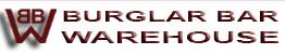Burglar Bar Warehouse logo